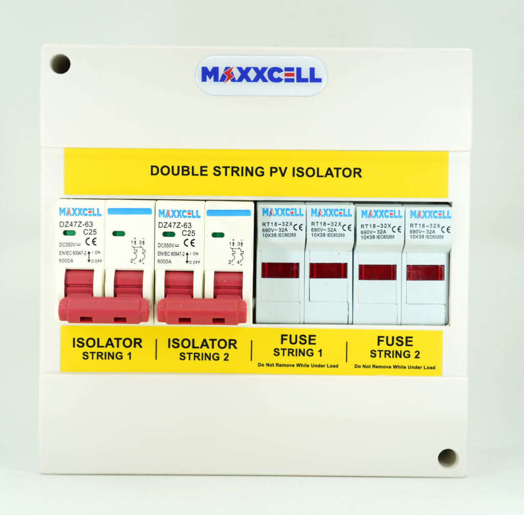Double-String-PV-Isolator